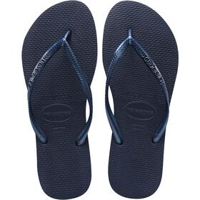 havaianas Slim Sandales Femme, navy blue